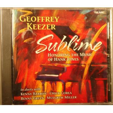 Sublime-Honoring The Music Of Hank Jones - Geoff Keezer