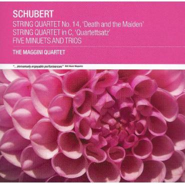 String Quartet No 14, 'Death and the Maiden' - String Quartet in C, 'Quartettsatz' - Five Minuets and Trios - Franz Schubert