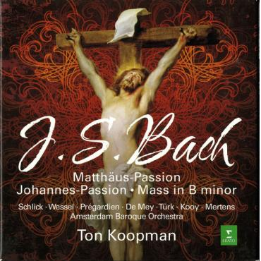 Matthäus-Passion · Johannes-Passion · Mass In B Minor - Johann Sebastian Bach