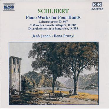 Piano Works For Four Hands - Franz Schubert