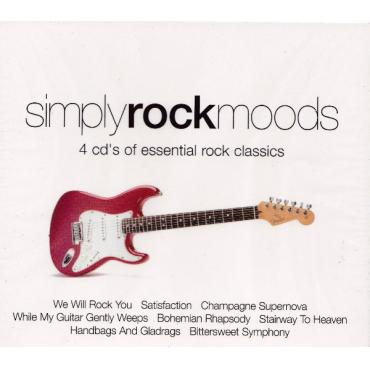 Simply Rock Moods - 4 CD's Of Essential Rock Classics - Various Production