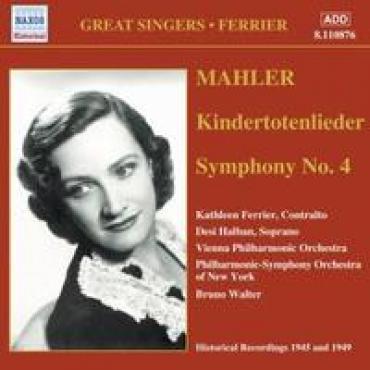 KINDERTOTENLIEDER/SYM.NO. - G. MAHLER