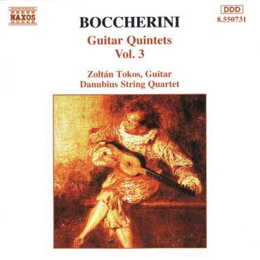 Guitar Quintets Vol. 3 - Luigi Boccherini