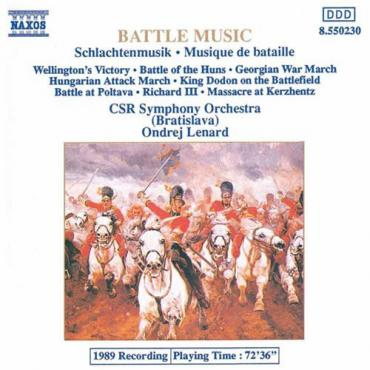 Battle Music = Schlachtenmusik = Musique De Bataille - Bratislava Symphony Orchestra