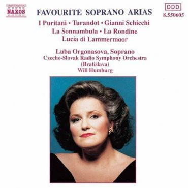 Favourite Soprano Arias  - Luba Orgonasova