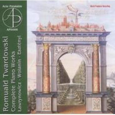 COMPLETE PIANO WORKS - R. TWARDOWSKI