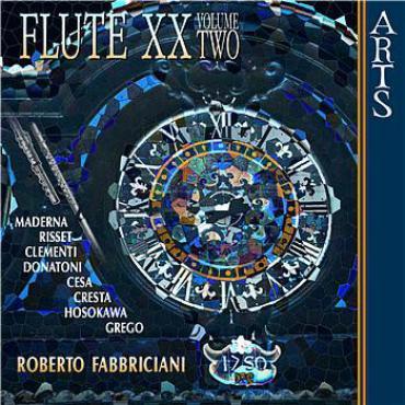Flute XX Volume Two - Roberto Fabbriciani