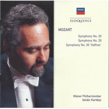 Symphony No. 25 / Symphony No. 29 / Symphony No. 35 'Haffner' - Wolfgang Amadeus Mozart