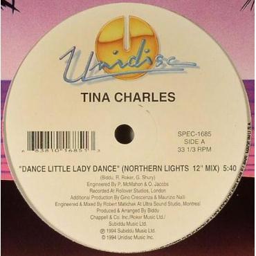 Dance Little Lady Dance (Remix) / You Set My Heart On Fire (Remix) - Tina Charles
