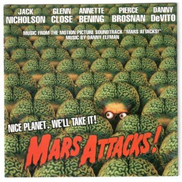 Mars Attacks! (Music From The Motion Picture Soundtrack) - Danny Elfman