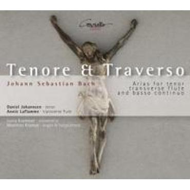 ARIAS:TENORE & TRAVERSO  - J.S. BACH