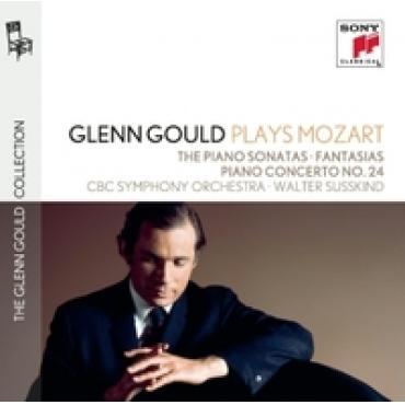 GLENN GOULD PLAYS MOZART: - GLENN GOULD
