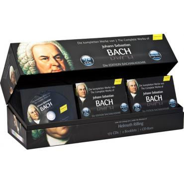Die Kompletten Werke Von Johann Sebastian Bach (Edition Bachakademie) - Johann Sebastian Bach