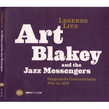 Sängerhalle Untertürkheim July 15, 1978 - Art Blakey & The Jazz Messengers