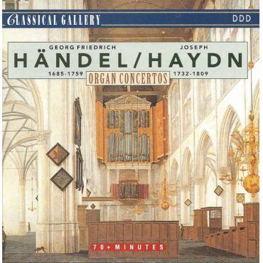 Organ Concertos - Georg Friedrich Händel