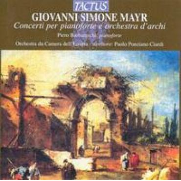 CONCERTS FOR PIANO & STRI - G.S. MAYR