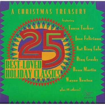 A Christmas Treasury - 25 Best-Loved Holiday Classics - Various Production