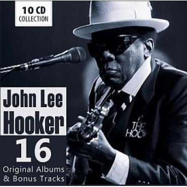 16 Original Albums & Bonus Tracks - John Lee Hooker