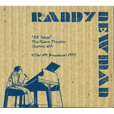 """""""22 Songs"""" - The Moore Theater, Seattle - 1974 - Randy Newman"""