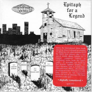 Epitaph For A Legend - Various Production