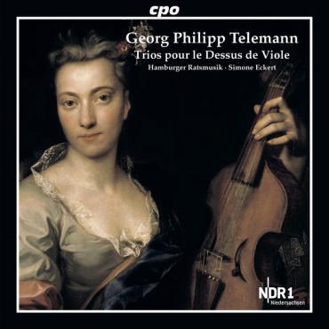 Trios Pour Le Dessus de Viole - Georg Philipp Telemann