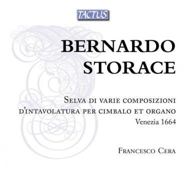 Selva Di Varie Composizioni D'intavolatura Per Cimbalo Et Organo, Venezia 1664 - Bernardo Storace