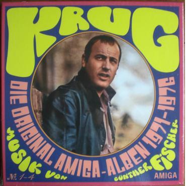 Die Original Amiga-Alben 1971-1976 - Manfred Krug