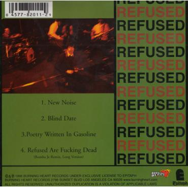 The New Noise Theology EP - Refused