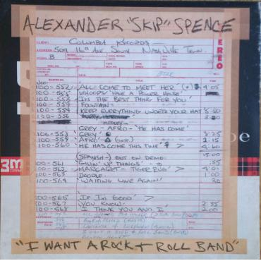 I Want A Rock & Roll Band - Alexander Spence