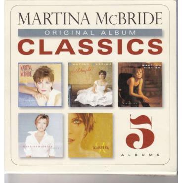 ORIGINAL ALBUM CLASSICS -5CD- - MARTINA MCBRIDE
