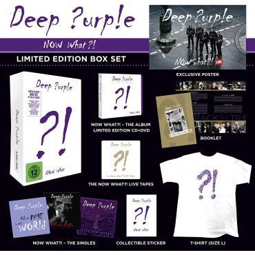 NOW WHATE -BOX- - Deep Purple