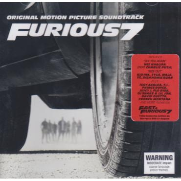Original Motion Picture Soundtrack Furious 7 - Various Production