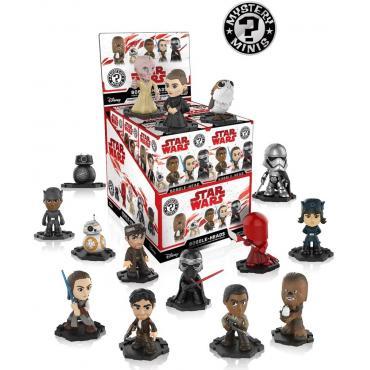 Funko - Mystery Minis - Disney - Star Wars - Blind Box - Bobble-Heads -