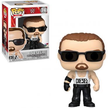 DIESEL #74-FUNKO POP! WWE  -