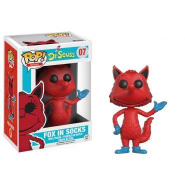Funko - Books: Dr. Seuss (Fox In Socks) POP! Vinyl /Toys -