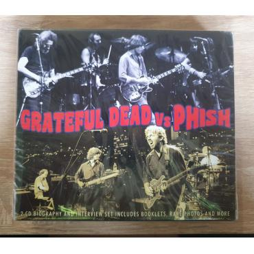 Grateful Dead Vs Phish - 2 CD Biography and Interview set includes booklets, rare photos and more. - The Grateful Dead