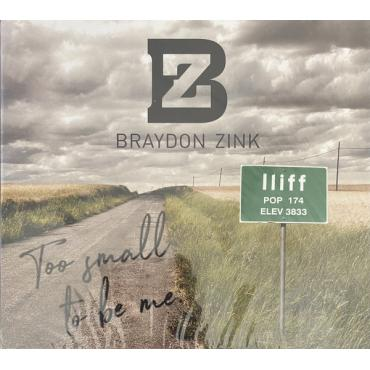 Too Small To Be Me - Braydon Zink