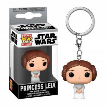 Star Wars: Funko Pop! Keychains - Princess Leia (Portachiavi) -