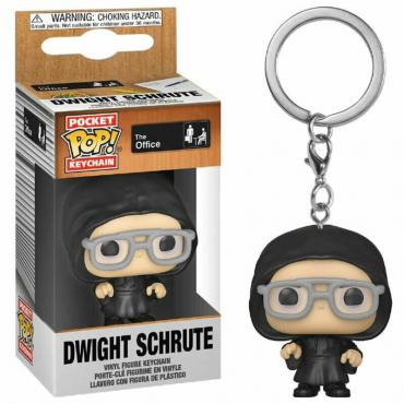 Office (The): Funko Pop! Keychain - Dwight Schrute (Dark Lord) (Portachiavi) -