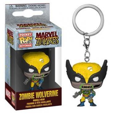 Marvel: Funko Pop! Keychain - Zombies - Zombie Wolverine (Portachiavi) -
