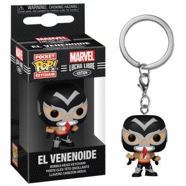 Marvel: Funko Pop! Keychain - Lucha Libre Edition - El Venenoide (Venom) (Portachiavi) -