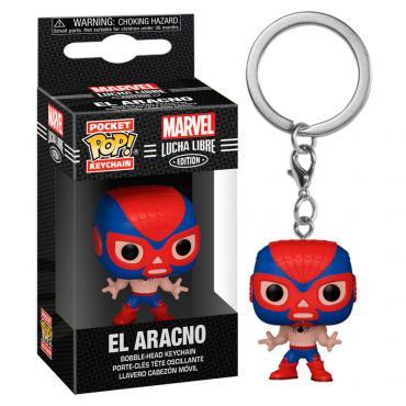 Marvel: Funko Pop! Keychain - Lucha Libre Edition - El Aracno (Spider-Man) (Portachiavi) -