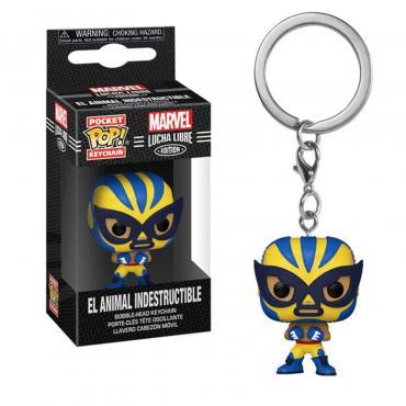 Marvel: Funko Pop! Keychain - Lucha Libre Edition - El Animal Indestructible (Wolverine) (Portachiav -