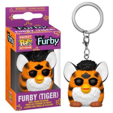 Hasbro: Funko Pop! Keychain - Furby (Tiger) (Portachiavi) -