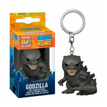 Godzilla Vs Kong: Funko Pop! Keychain - Godzilla -