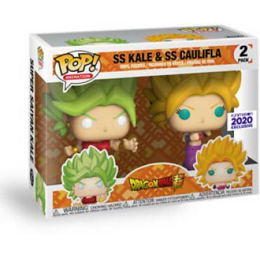 Dragon Ball Super: Funko Pop! Animation - SS Kale & SS Caulifla Pop 2Pk (Vinyl Figures) -