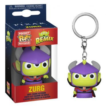 Disney: Funko Pop! Keychain - Pixar Alien Remix - Zurg -
