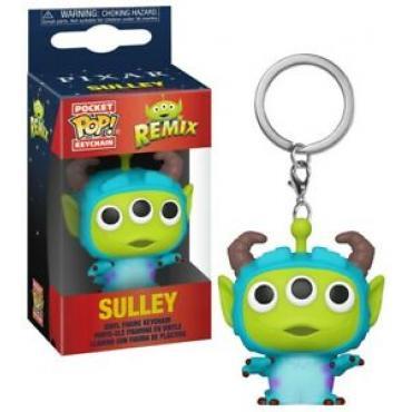 Disney: Funko Pop! Keychain - Pixar Alien Remix - Sully (Portachiavi) -