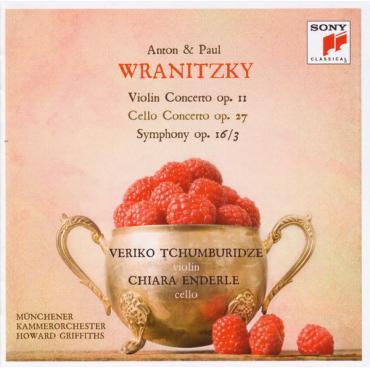 Violin Concerto Op. 11 • Cello Concerto Op. 25 • Symphony Op. 16/3 - Antonín Vranický