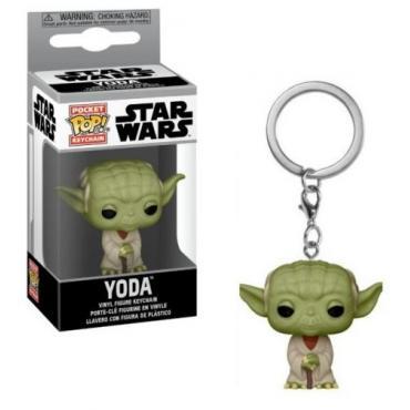 Star Wars: Funko Pop! Keychains - Yoda (Portachiavi) -